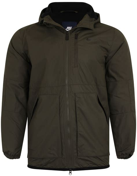 hooded fleece coat new nike alliance padded jacket fleece lined hooded coat