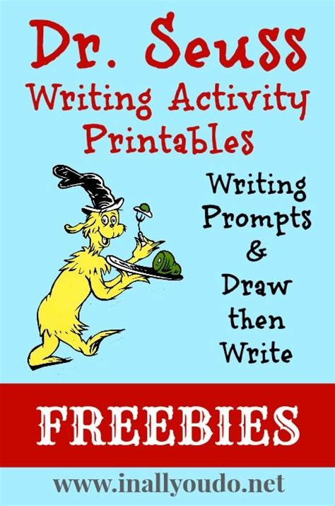 Dr Seuss Essay by Writing Activities Dr Seuss And Writing On