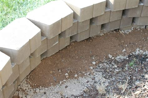 suburbanspunkdesign our diy retaining wall thisiskc