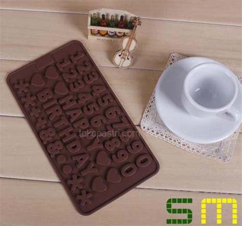 Cetakan Coklat Birthday Word jual cetakan bentuk tulisan happy birthday tokopastri