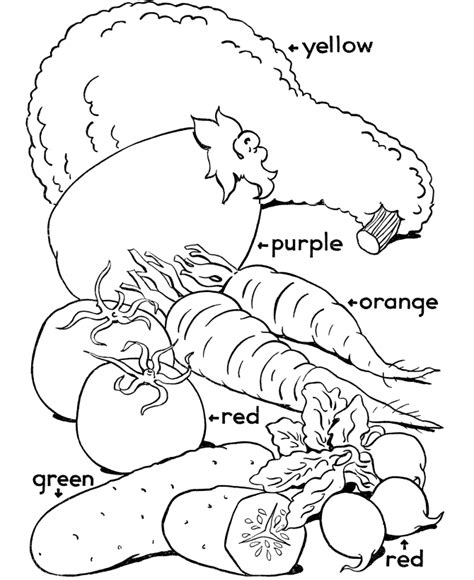 vegetables coloring pages vegetable color pages az coloring pages
