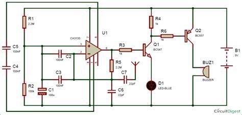 capacitor in telephone circuit how does capacitor loop antenna works below circuit diagram electrical engineering stack