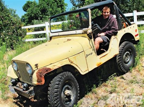 Jeep Lemon 1973 Jeep Cj 5 Project Lemon Pie 4 Wheel Road Magazine