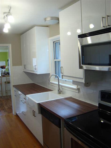 galley kitchen designs ikea ikea galley kitchen modern kitchen toronto by honey do contractors