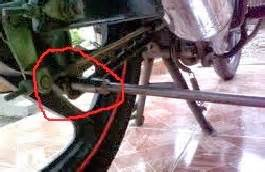 Kas Rem Belakang Grand Supra Zsw cara mengganti kas rem belakang mototr bebek