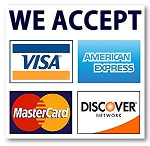 we accept cards sticker template 3 5 x 3 5 credit card sign visa mastercard