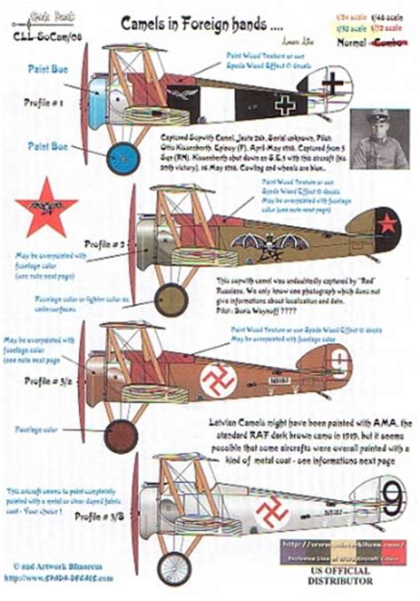Russ Camel 2 Others wwi beacat hellcataircraft decal review by robert