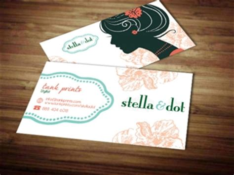 free stella and dot business card template stella and dot business card design 6