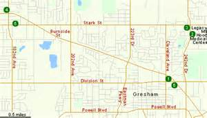 map of gresham oregon hotels in gresham or oregon hotels