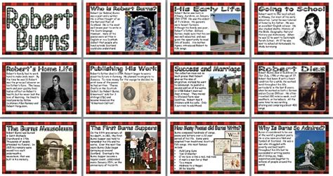 biography posters ks2 literacy resource robert burns biography printable posters