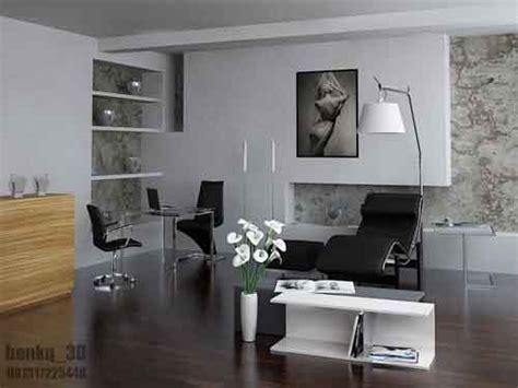 layout ruang kerja minimalis desain interior rumah minimalis modern gambar dan foto