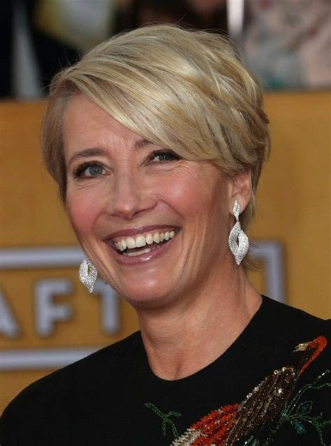 hair styles for 25 uwar old 25 easy short hairstyles for older women emma thompson