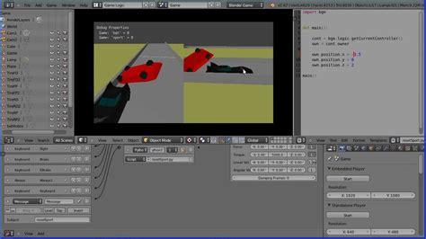 tutorial blender game blender tutorial racing game flipping a car back onto