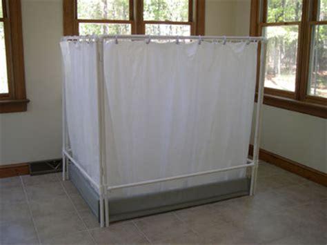 temporary shower curtain liteshower folding screens