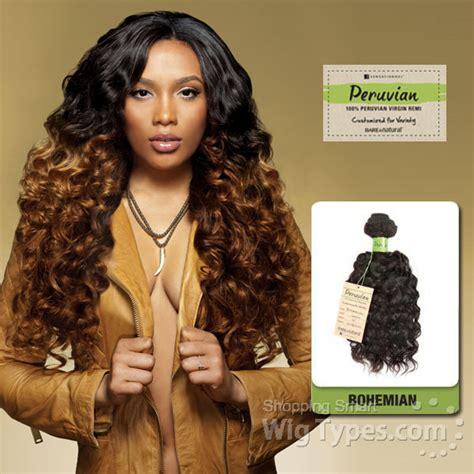 brazillian boeheimian hair sensationnel 100 virgin remi bundle hair bare natural