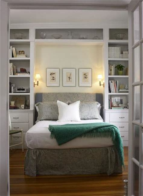 10 Tips To Make A Small Bedroom Look Great Bedroom Cabinet Design Ideas For Small Spaces