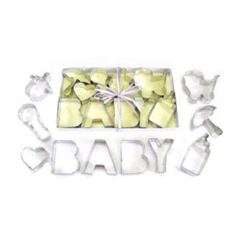 Baby Shower Cookie Cutter by Baby Shower Cookie Cutters Set 10pc