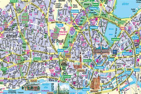 hamburg karte hamburg city karte kleve landkarte