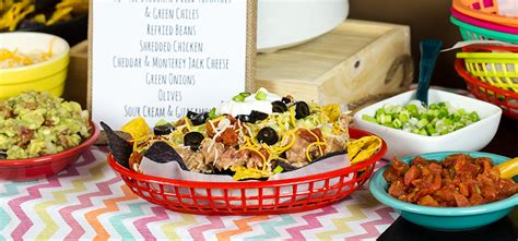 nacho bar toppings list tips and articles landing ro tel