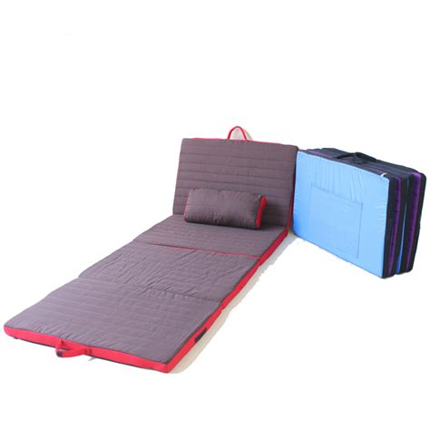 Folding Cushion Bed Cushion Folding Bed For Bedroom Living Room Modern Furnitureoffice Siesta Cing Mat In