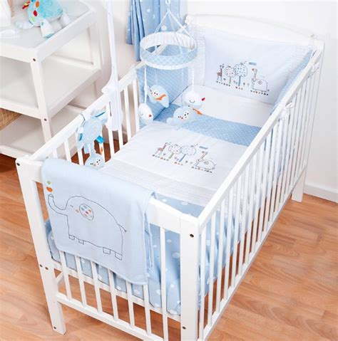bedding sets for cots kite cosi cot 4 bedding set blue hello ernest