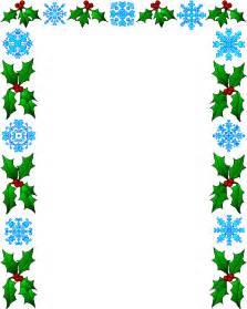 Paperframes border papers bottom christmas borders christmas letter