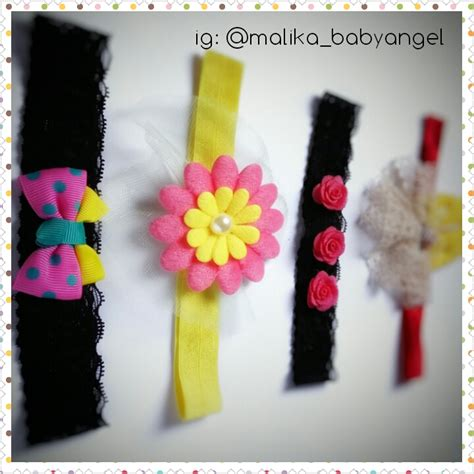Bando Bayi Bandana Headband jual headband bandana bando bayi dan balita handmade