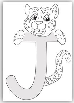 """J"" is for Jaguar Craft and Letter Practice by Crafting"