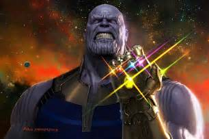 Thanos With Infinity Gauntlet Thanos Infinity War