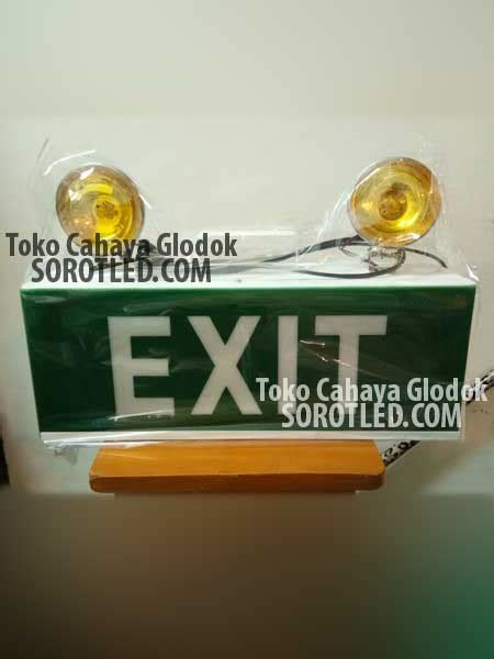 Lu Emergency Mata Kucing lu halogen mata kucing exit sign durable emergency