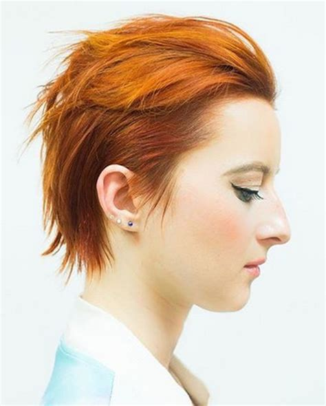 edgy red hairstyles 35 short punk hairstyles to rock your fantasy