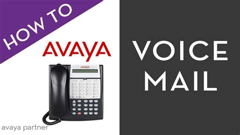reset voicemail password avaya merlin avaya partner voice mail youtube