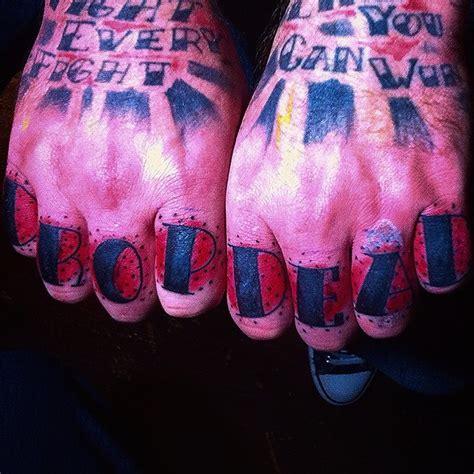 knuckle tattoo gallery hardcore knuckle tattoos tattoo artist magazine