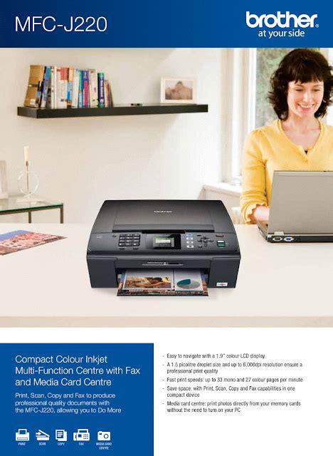 Printer Mfc J220 aston printer toko printer mfc j220 review