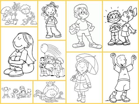 preguntas ingles niños dibujos para colorear ni 241 os y ni 241 as