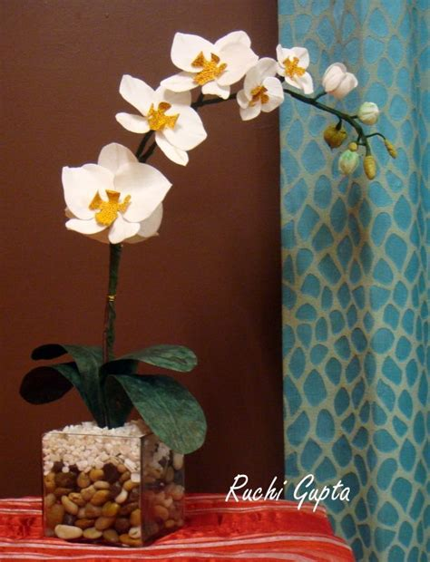 paper orchid flower pattern crepe paper orchid flower crepe paper flowers others