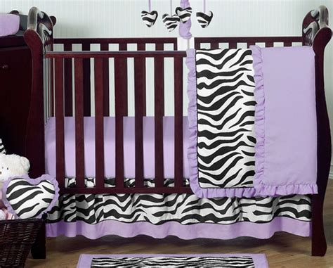 zebra print baby bedding crib sets purple funky zebra baby bedding 11pc crib set only 189 99