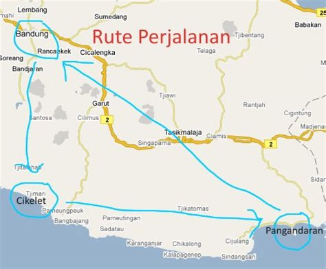 grand pangandaran map peta lokasi green pangandaran