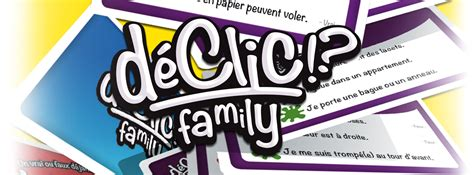 Asmodee Le Declic by D 233 Clic Family