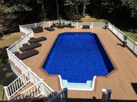 Fox Pools Ultra Modern Pool Patio
