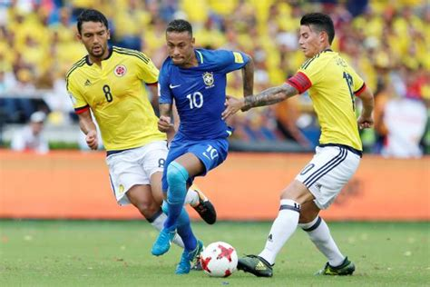 Match Bresil Coupe Du Monde 2018 Le Br 233 Sil Accroch 233 En Colombie En Qualifications Du