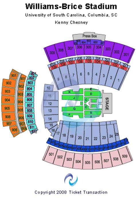 williams brice seating chart williams brice stadium seating chart
