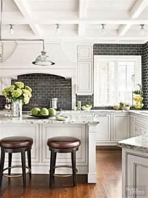 black and white tile kitchen ideas 35 beautiful kitchen backsplash ideas hative