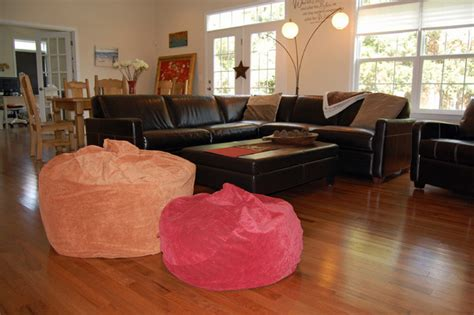 bean bag living room bean bag chairs for interior design traditional family