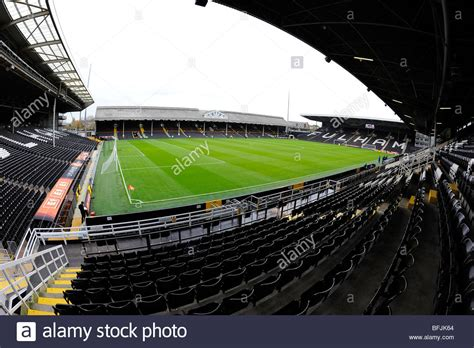 fulham craven cottage fulham football club craven cottage stadium stock photos