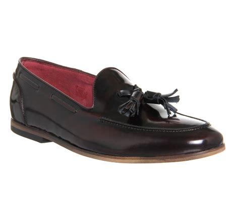 ask the missus loafers mens ask the missus avocado tassel loafers burgundy hi