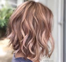 curly lob hairstyle 10 balayage hairstyles for shoulder length hair medium