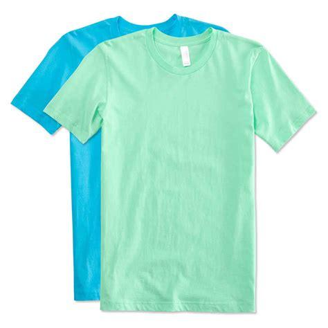 T Shirt The design custom printed canvas jersey t shirts at