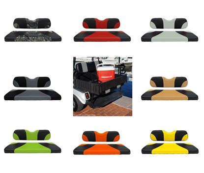 Flip For It Color Kits Product Review by Ecartparts Golf Cart Parts Accessories Rear Seat