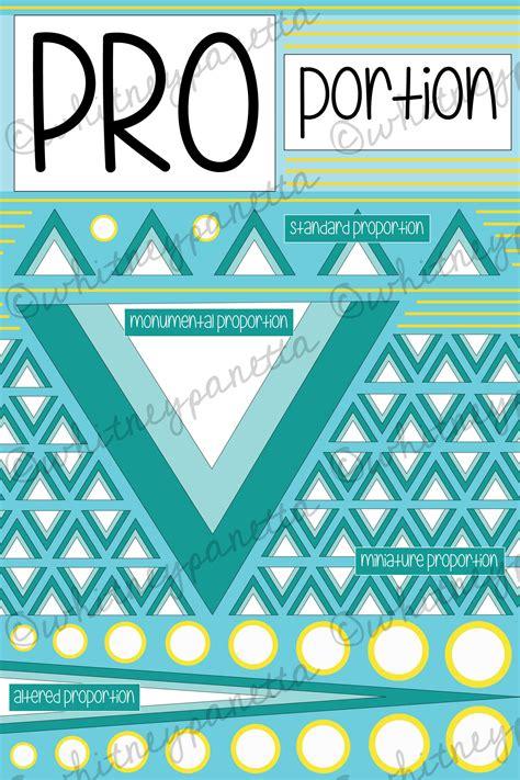 design definition of proportion art education principles of design poster pack look